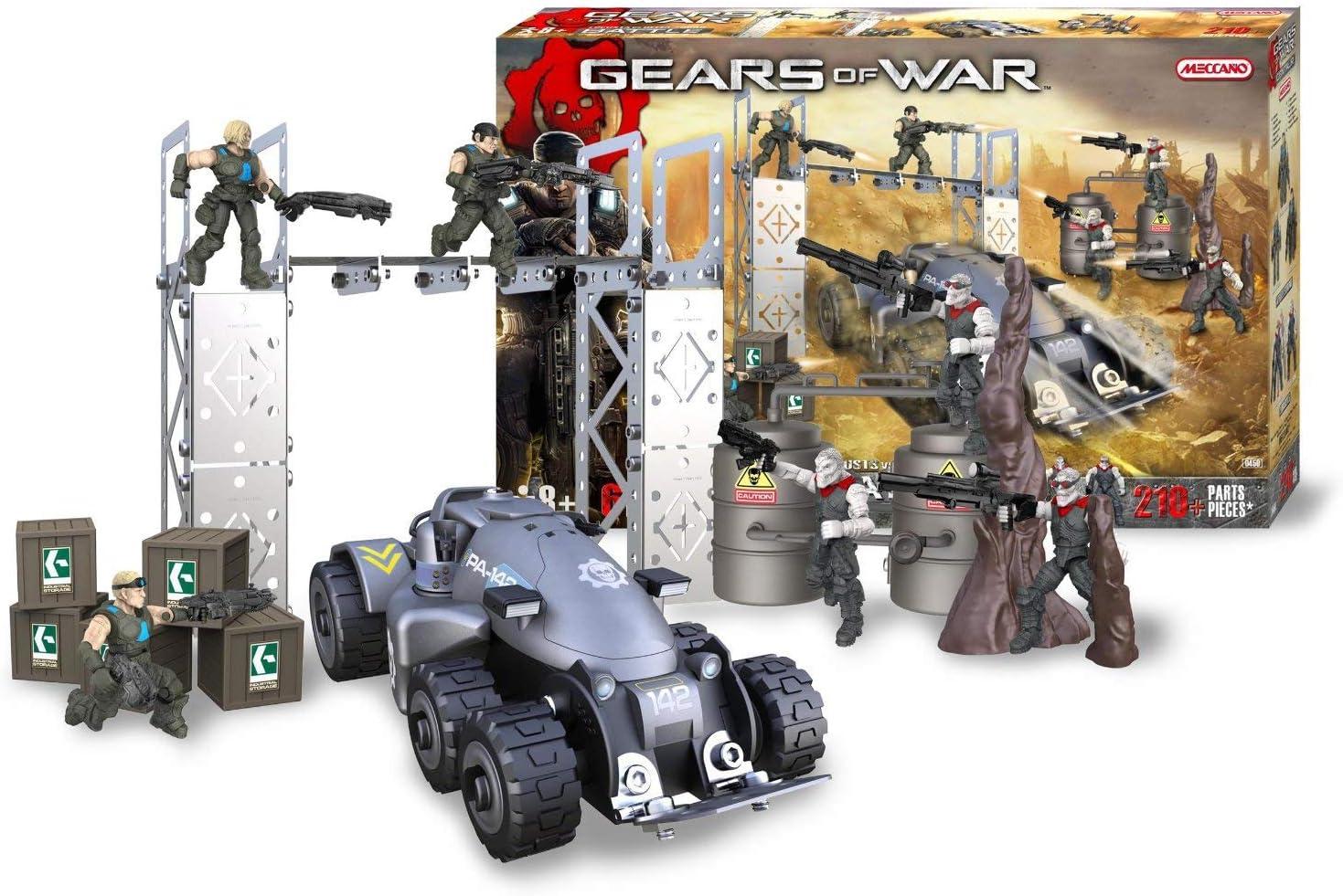 MECCANO 850450 Gears of War - Juego de construcción, diseño de ...