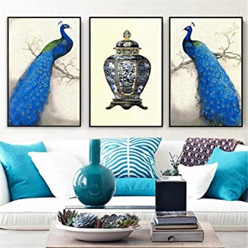 Guow Peacock Decorative Painting Living Room Decorative Painting