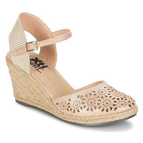 XTI 48049 Sandalias Mujer Color Rosa Talla: 39: Amazon.es: Zapatos y complementos