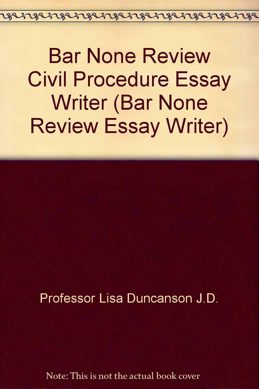 bar exam essay structure