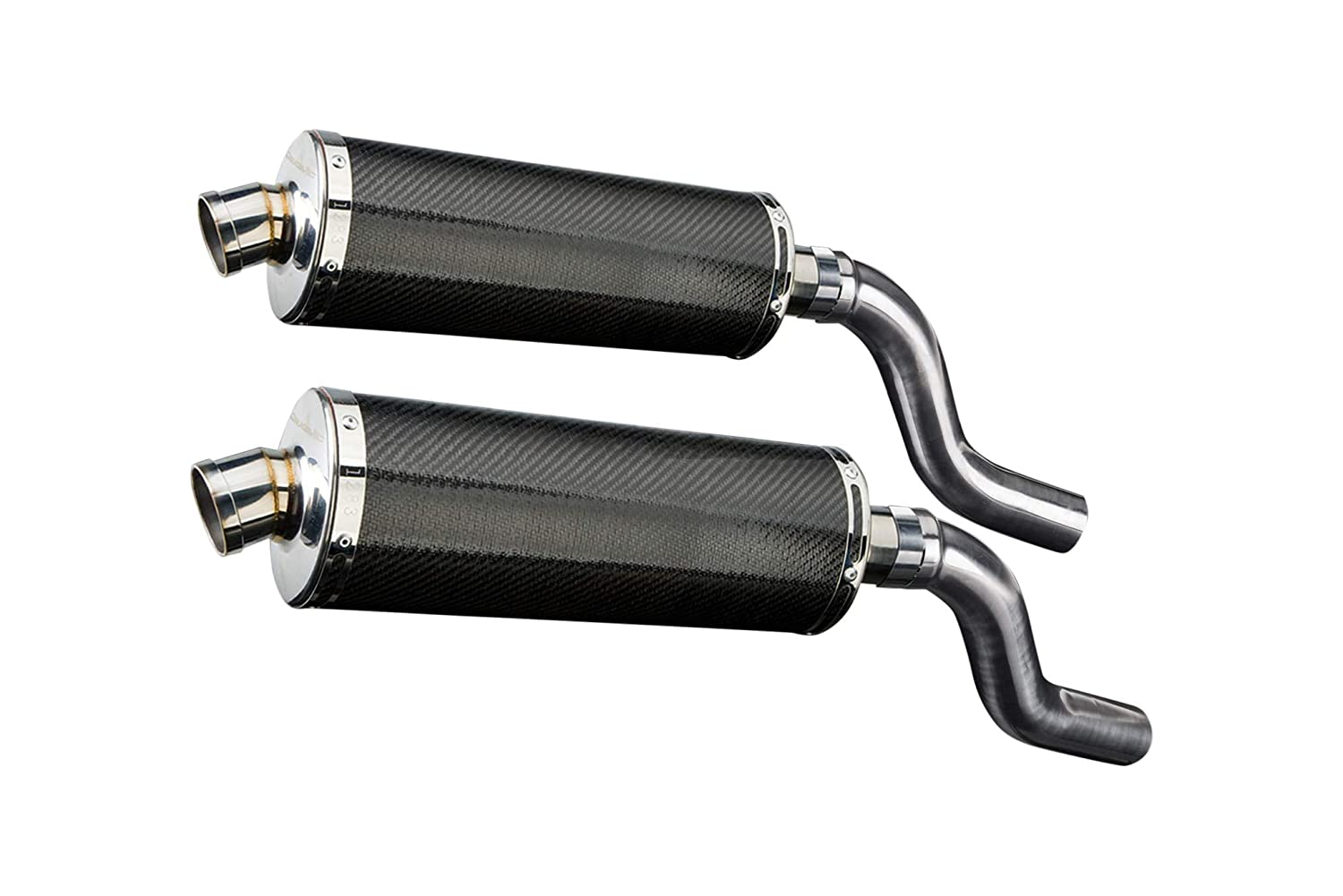 Amazon.com: Delkevic Aftermarket Slip On compatible with ...