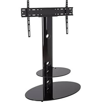 Amazon Com Hodedah 35 Quot Wide Tv Stand With Swiveling Mount
