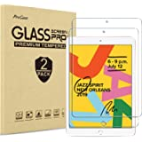 [2 Pack] ProCase iPad 10.2 8th Gen 2020 / 7th Generation 2019 Screen Protector, Tempered Glass Screen Film Guard Screen…