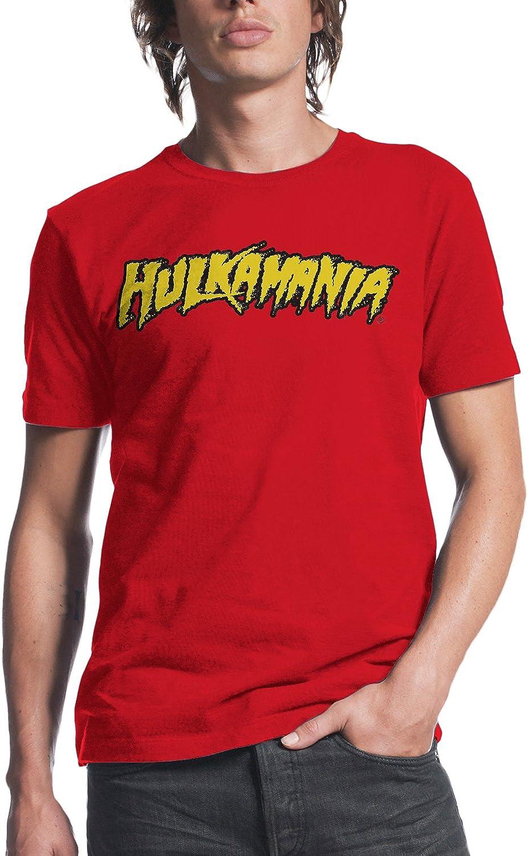 Youth Boys WWE Wrestler Hulk Hogan Hulkamania Red T-shirt