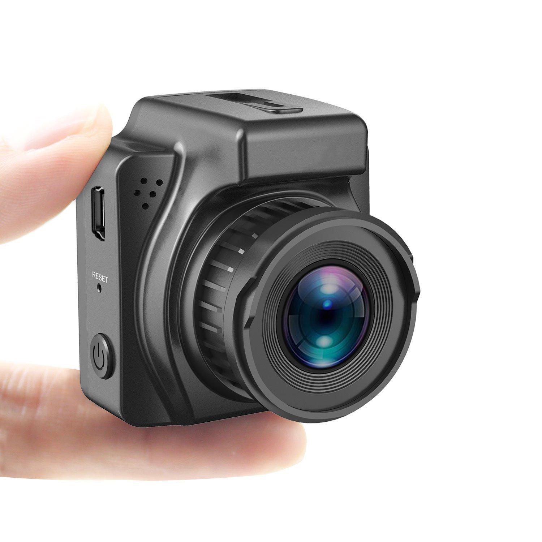 Cinlitek Car Dash Cam, Dash Camera for Cars, Car Camera - Dash Cam with Full HD 1080P, Sony Sensor, Built-in GPS, 170° Wide Angle Dash Camera, HDR, Motion Detection, Loop Recording Car Dash Cam