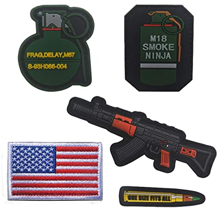 Amazon.com: M18 Smoke Ninja, M67 Frag Delay S-93H066-04, ONE ...