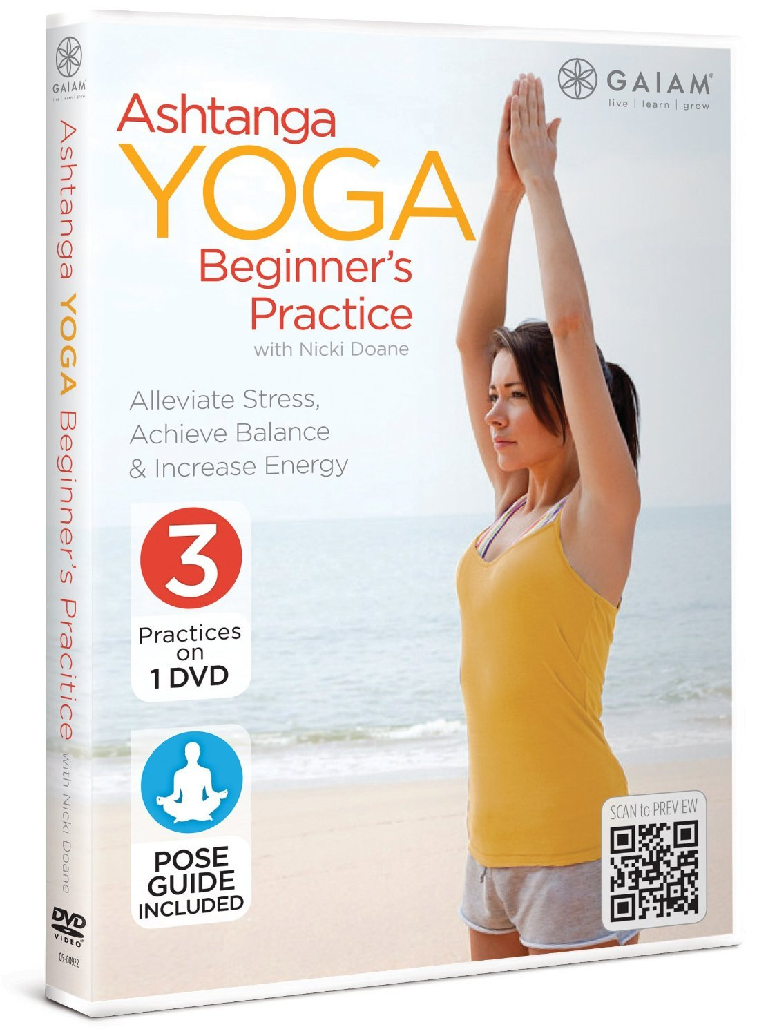 Amazon.com: Ashtanga YOGA Beginners Practice with Nicki ...