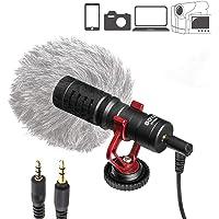 RONSHIN - Micrófono de grabación en Vivo para BOYA by-MM1