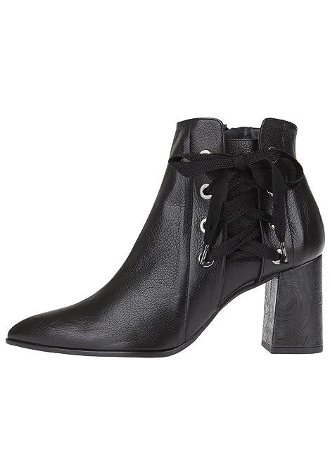 Paco Gil Mujer Botines Clair/MAX, Color Negro, Talla 36 EU: Amazon.es: Zapatos y complementos