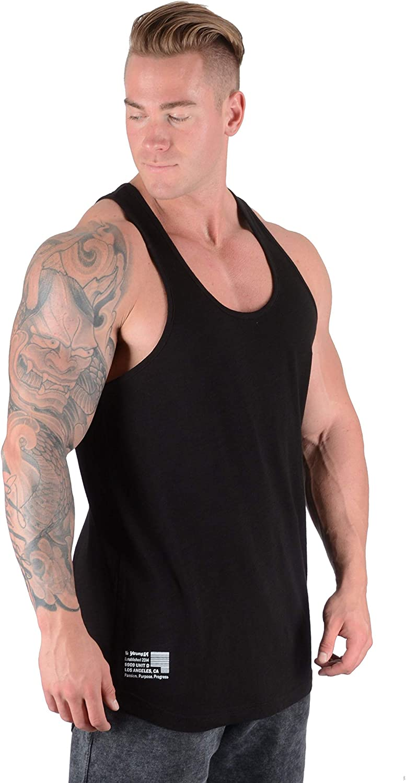 YoungLA Stringer Tank Tops Men Workout Muscle Bodybuilding 305