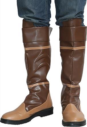 The Legend of Zelda Link Brown Shoes Cosplay Boots Handmade