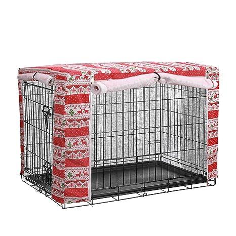 QCWN cobertores para jaulas de Perro, poliéster Resistente al ...