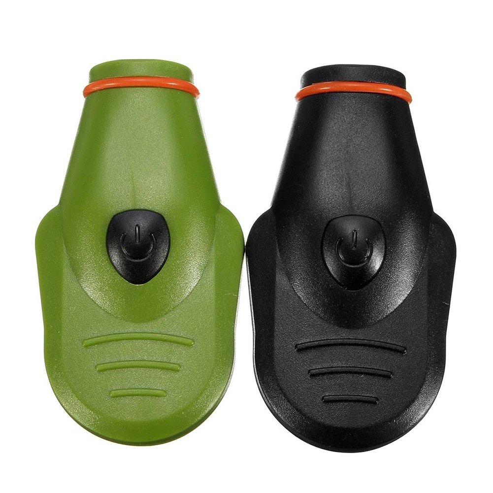 HOMYY LED Cap lumi/ère Lampe Frontale /à LED Lampe Chapeau Mini Lampe Torche Phare /à 90/degr/és Pince r/églable Les Mains Libres pour Chasse p/êche Camping en Plein air