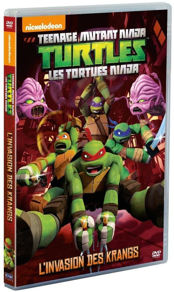 Amazon.com: Les Tortues Ninja - Vol. 3 : Linvasion des ...