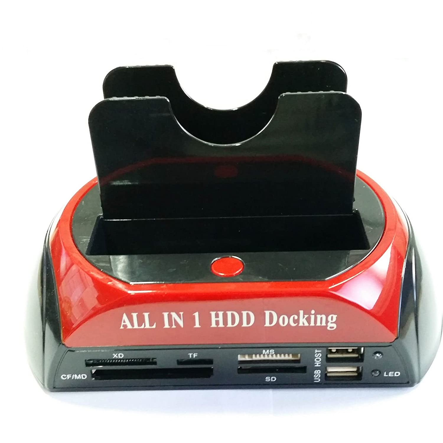 2.5//3.5-inch IDE+SATA High Speed Hard Drive Dock Station with Card Reader SL