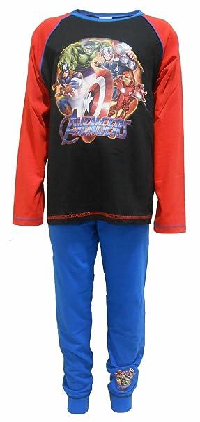 Marvel Avengers Superhero los niños 100% algodón pijamas 4-5 años