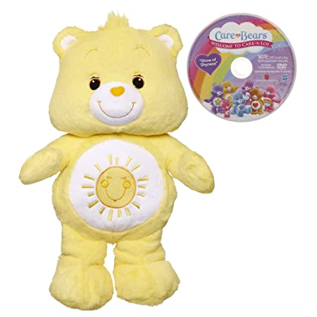 Amazon.com: Care Bears Funshine Bear Toy With DVD: Toys & Games