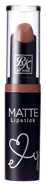 Kiss Ruby Kisses Matte Lipstick Brown Sugar (3ml) (2 Pack)