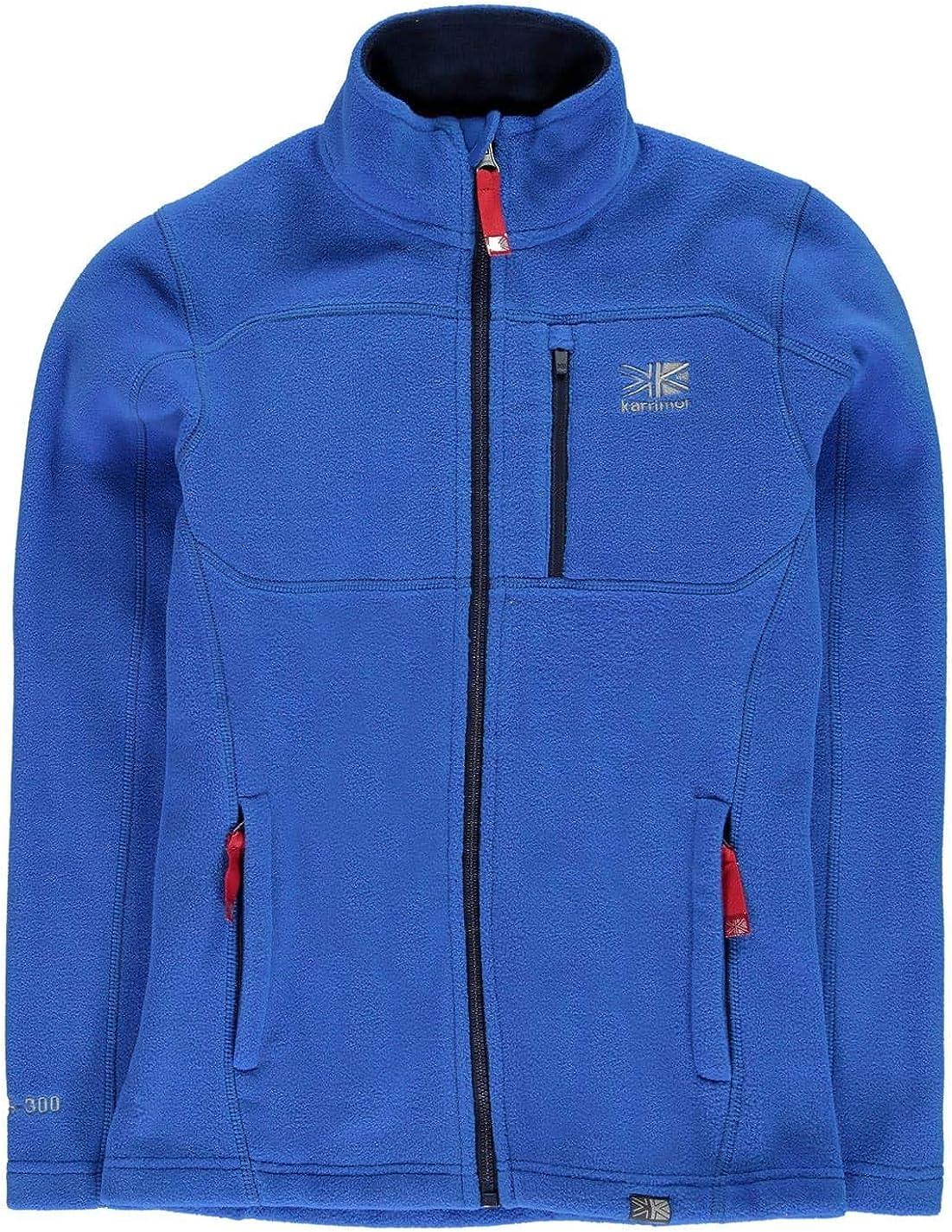 Karrimor Kids Girls Fleece Jacket Junior Full Zip Top Coat