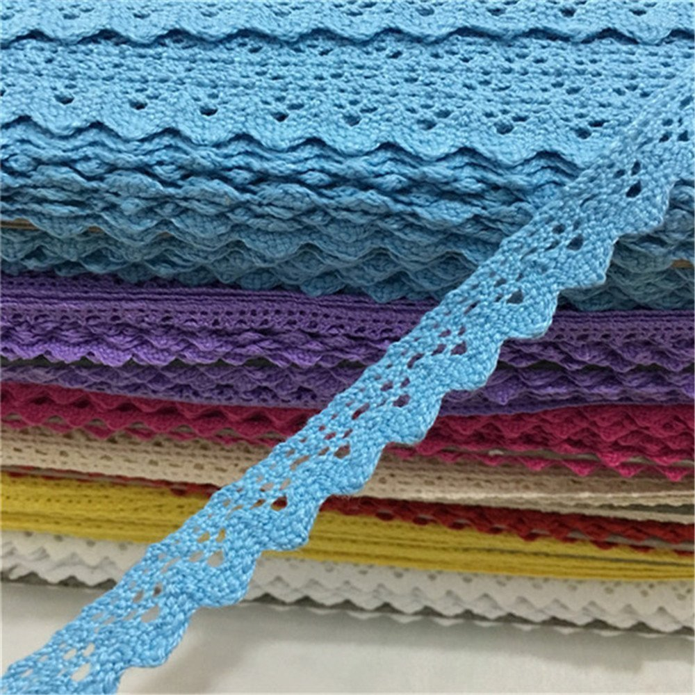 blue TM OZXCHIXU 2 meters Sewing Lace Ribbon Trim Guipure 15mm width for Scrapbooking Gift Packing