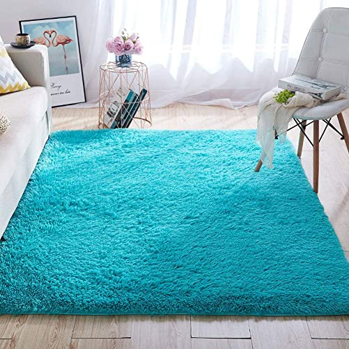 Wondo Soft Shaggy Area Rugs Modern Fluffy Bedroom Rug