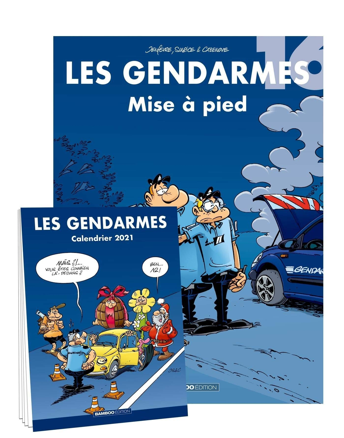 Les Gendarmes   tome 16 + calendrier 2021 offert (BAMBOO HUMOUR