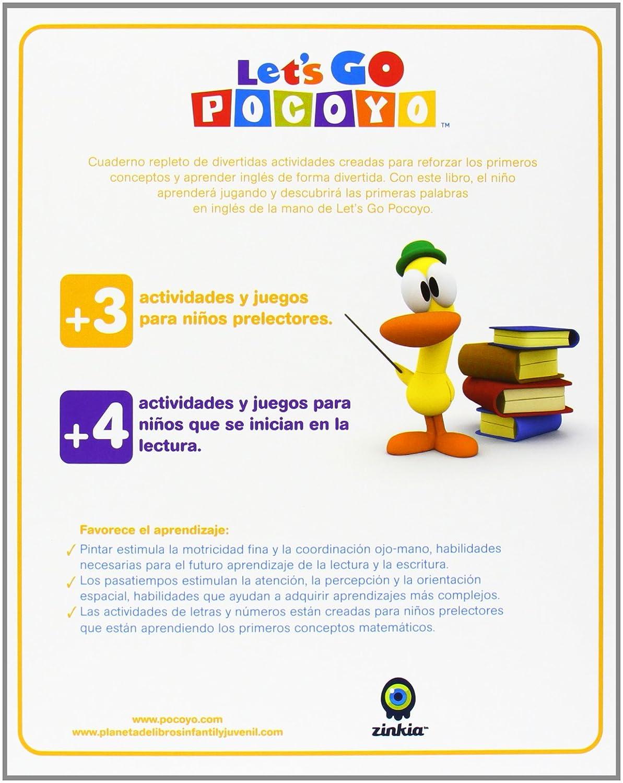Amazon.com: Pack: Lets Go Pocoyó: Vols. 1 - 4 (+ Dos Libros De Tapa Dura: Di: Movies & TV
