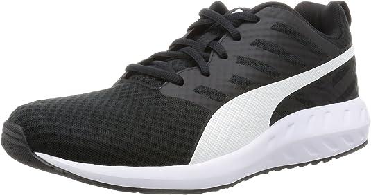 Puma Flare Mesh, Zapatillas de Running para Hombre, Negro Black White 02, 42 EU: Amazon.es: Zapatos y complementos