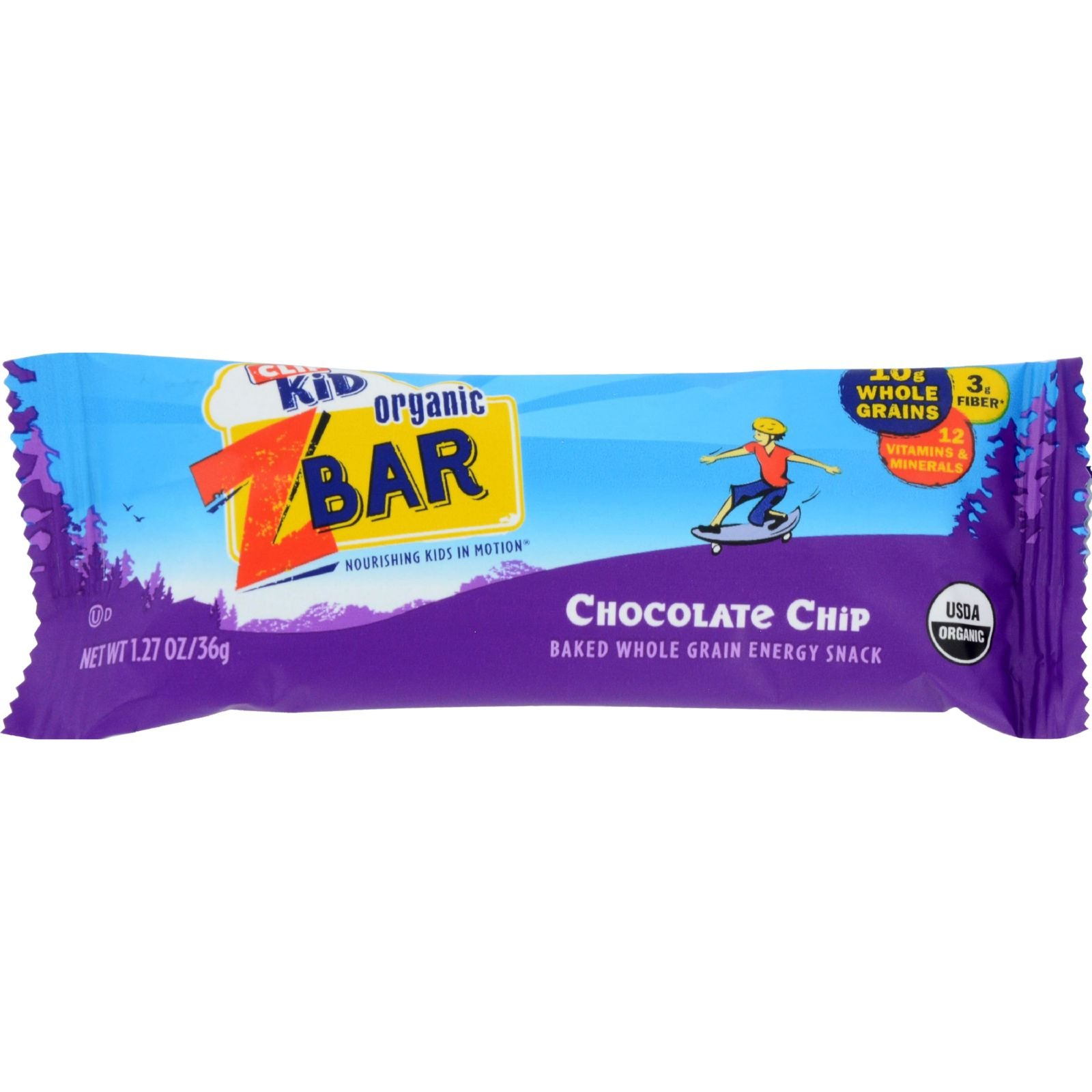 Clif/Zbar Choc Chip Size 1.27z