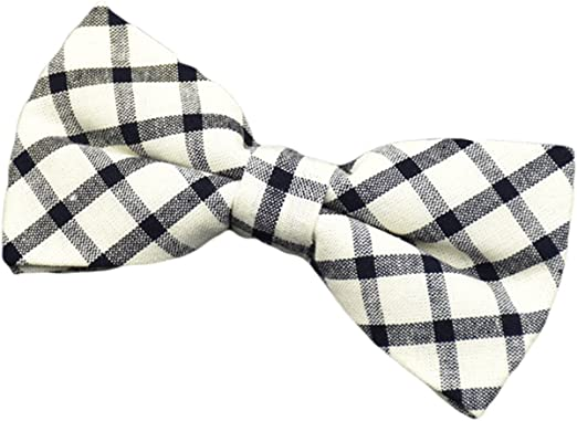 MENDENG Mens Pre-Tied Satin Red White Polka Dot Bowtie Adjustable Bow Tie Ties
