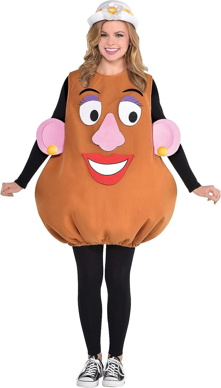 Party City Mrs. Kit de Disfraz de Cabeza de Patata para Halloween ...