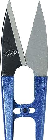 Tijeras de hilo Tijeras de corte de costura de acero inoxidable Cortador de cuentas de hilo para bordado Artesan/ías de bricolaje
