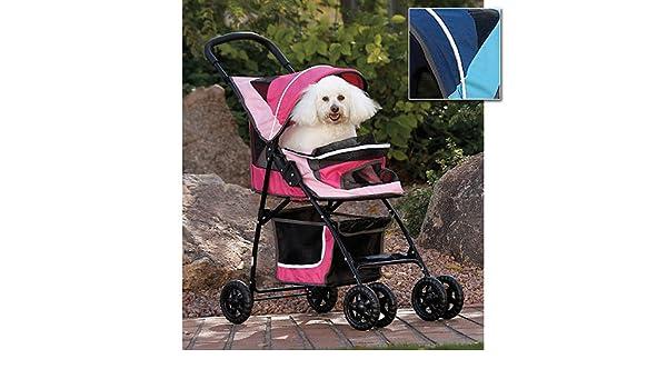 Amazon.com: CARRIOLA para MASCOTA PET GEAR modelo SPORT PET color Sport Pink: Health & Personal Care