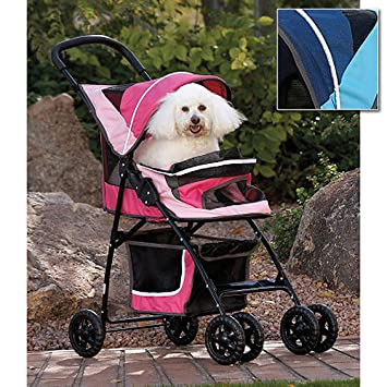 CARRIOLA para MASCOTA PET GEAR modelo SPORT PET color Sport Pink