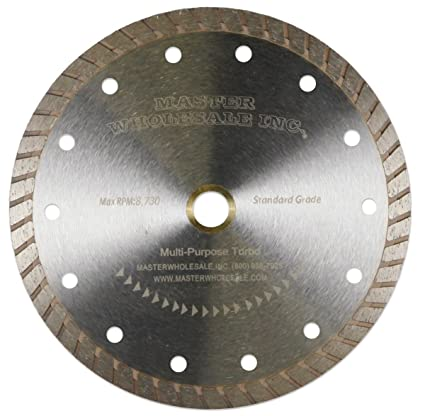 "Master Wholesale Multi-Purpose Turbo Diamond Blade (7"")"
