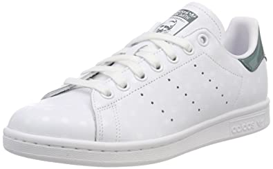 adidas Stan Smith W, Chaussures de Tennis Femme, Blanc FTWR ...