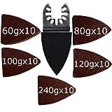 XXGO 51 Pcs Finger Oscillating Multi Tool Sanding