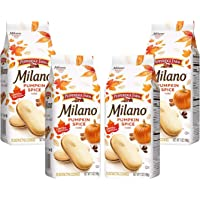 Pepperidge Farm, Milano Cookies, Limited Edition, Pumpkin Spice, 7oz Bag (Pack of 4)