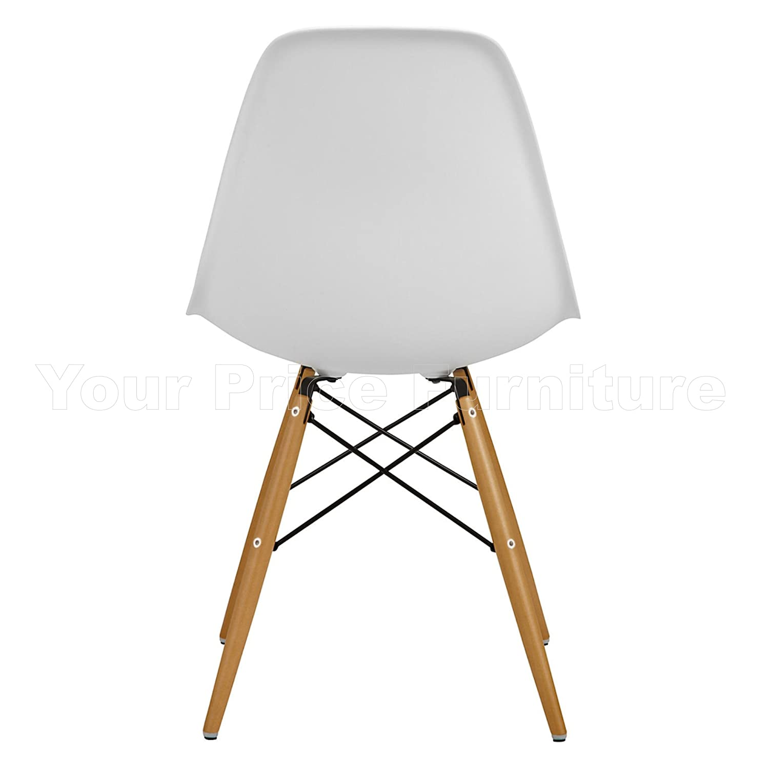 Set of 4 Eames Inspired ABS DSW Eiffel Side Dining Chairs