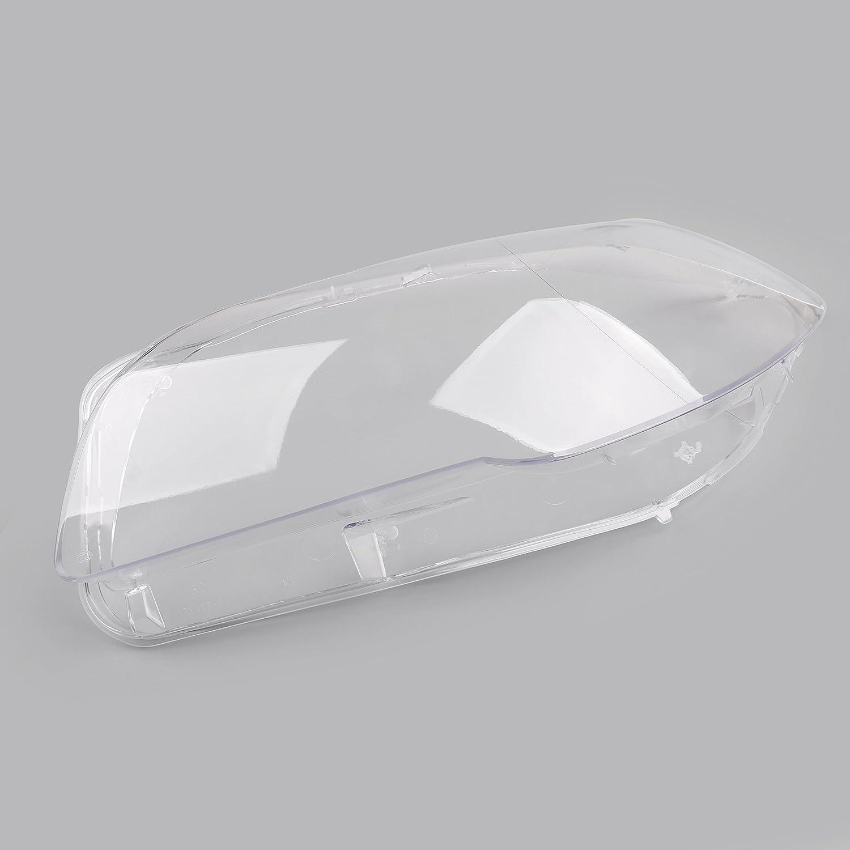 1 Coppia Faro Lente Di Plastica Shell Cover Per B-M-W F10//18 520 523 525 535 530 2010-2014
