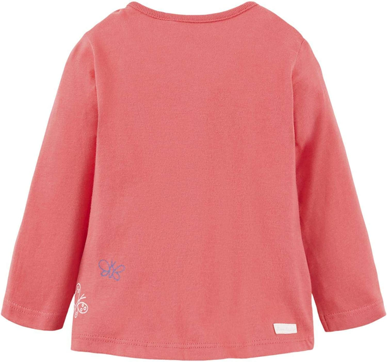 TOM TAILOR Baby-M/ädchen T-Shirt Placed Print Langarmshirt