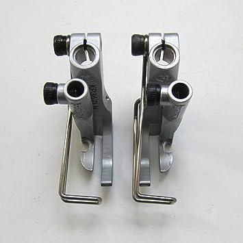 KUNPENG -2 conjunto Cremallera derecha e izquierda Ajuste para Adler 367, 467, 669,767 Máquina de coser #KP367-LN+KP367-RN: Amazon.es: Hogar