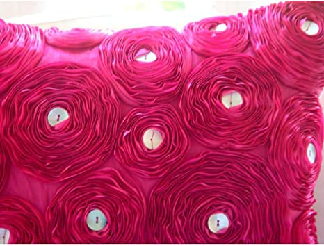 Pillow 40 x 40 cm cushion HAL REF Halloween fuchsia 100/% cotton background pattern