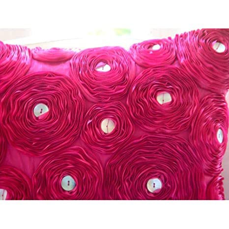 Fuchsia Power - Decorativa Funda de Cojin 30 x 30 cm, Square ...