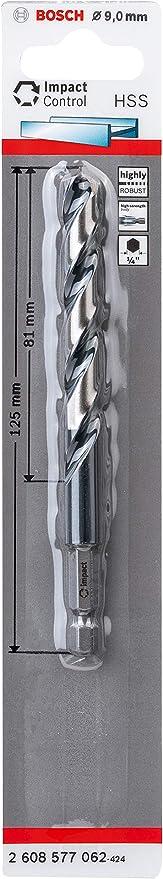 para metal, 11 x 94 x 142 mm, accesorio de taladro Bosch Professional HSS Impact Control Broca hexagonal