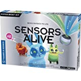 Thames & Kosmos Sensors Alive | Educational Science Kit | Bring Physics to Life | Learn About Temperature, Sound & Light | To
