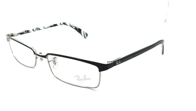 Amazon.com: Ray-ban Rx Eyeglasses Frames Rb 8633 1017 54x17 Black ...