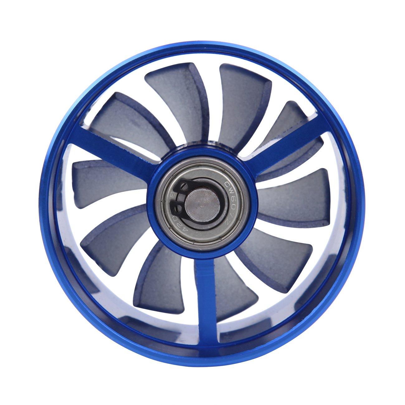 Ambienceo 2.5-2.9 Universal Car Gas Fuel Turbo Saver Fan Supercharger Air Intake Turbonator