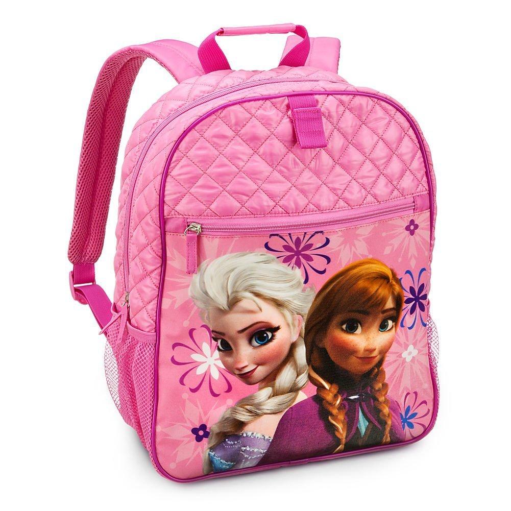 Disney Store Frozenバックパック:プリンセスエルサand AnnaスクールSupplies、ピンク B00LT41VYU