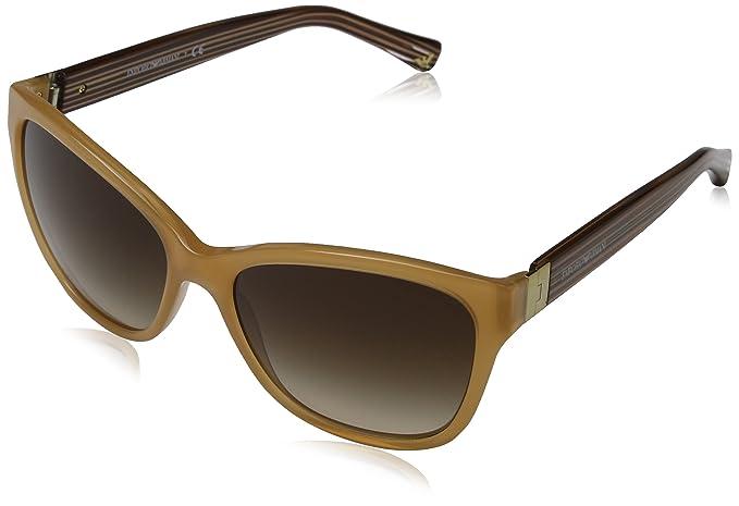 Emporio Armani 4068 Gafas de sol, Opal Honey 550613, 57 ...